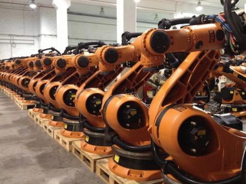 Used kuka robots