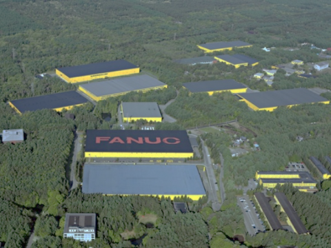 FANUC production factory in Yamanashi prefecture, Japan