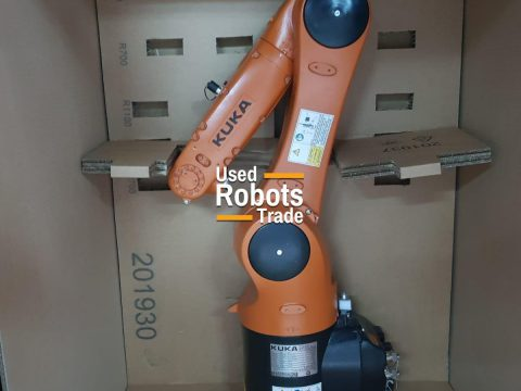 Industrial Robot packed in a box