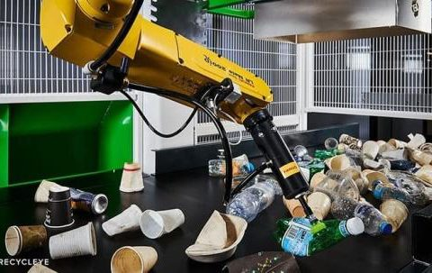 A Fanuc Recycleye at work