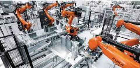 THIS IS HOW ROBOTS WORK AS KUKA CASTING CAPTORS