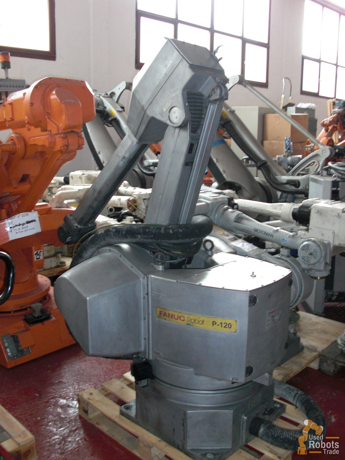 robot P-120 Paint used Fanuc with RJ3 controller | UsedRobotsTrade
