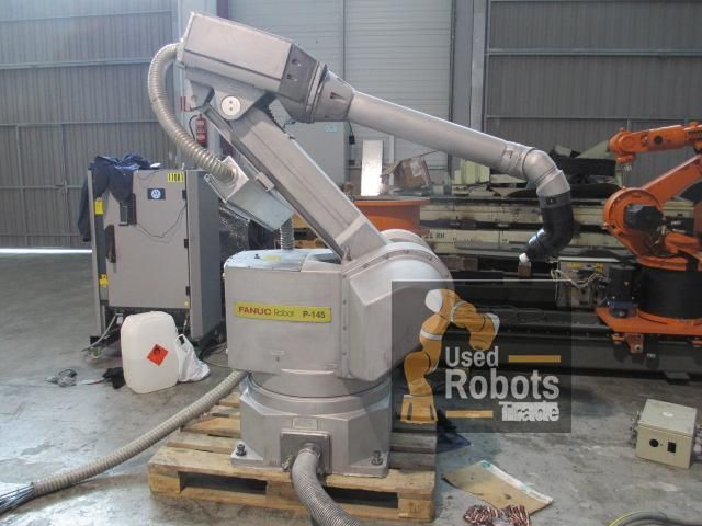 robot P-145 Paint used Fanuc with Rj3 controller | UsedRobotsTrade