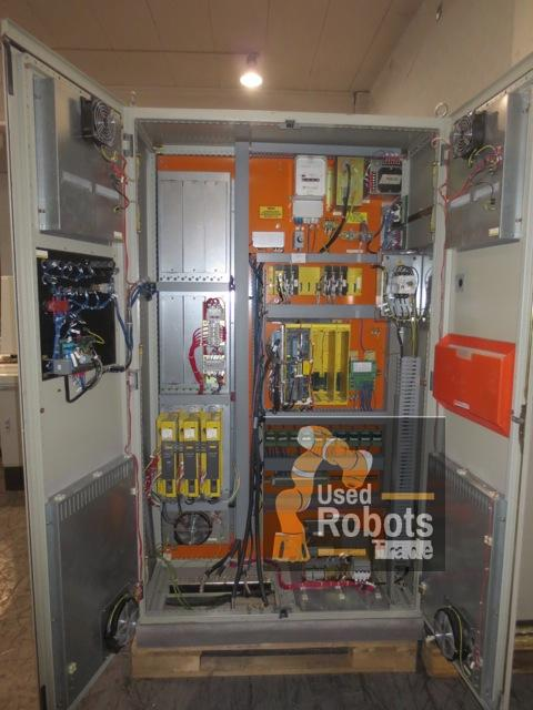 P-155 robot paint used Fanuc with RJ2 controller